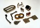 Musterteile verschiedene Metalle ::